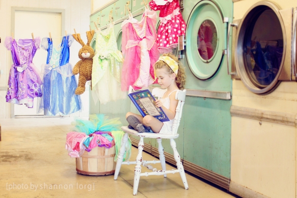 Even Cinderella had to do a lil' laundry before she went to the ball...