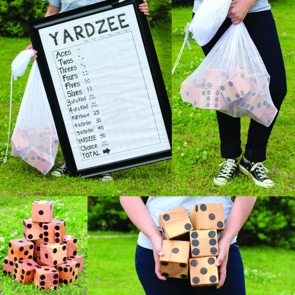 Yardzee: Yahtzee only bigger...